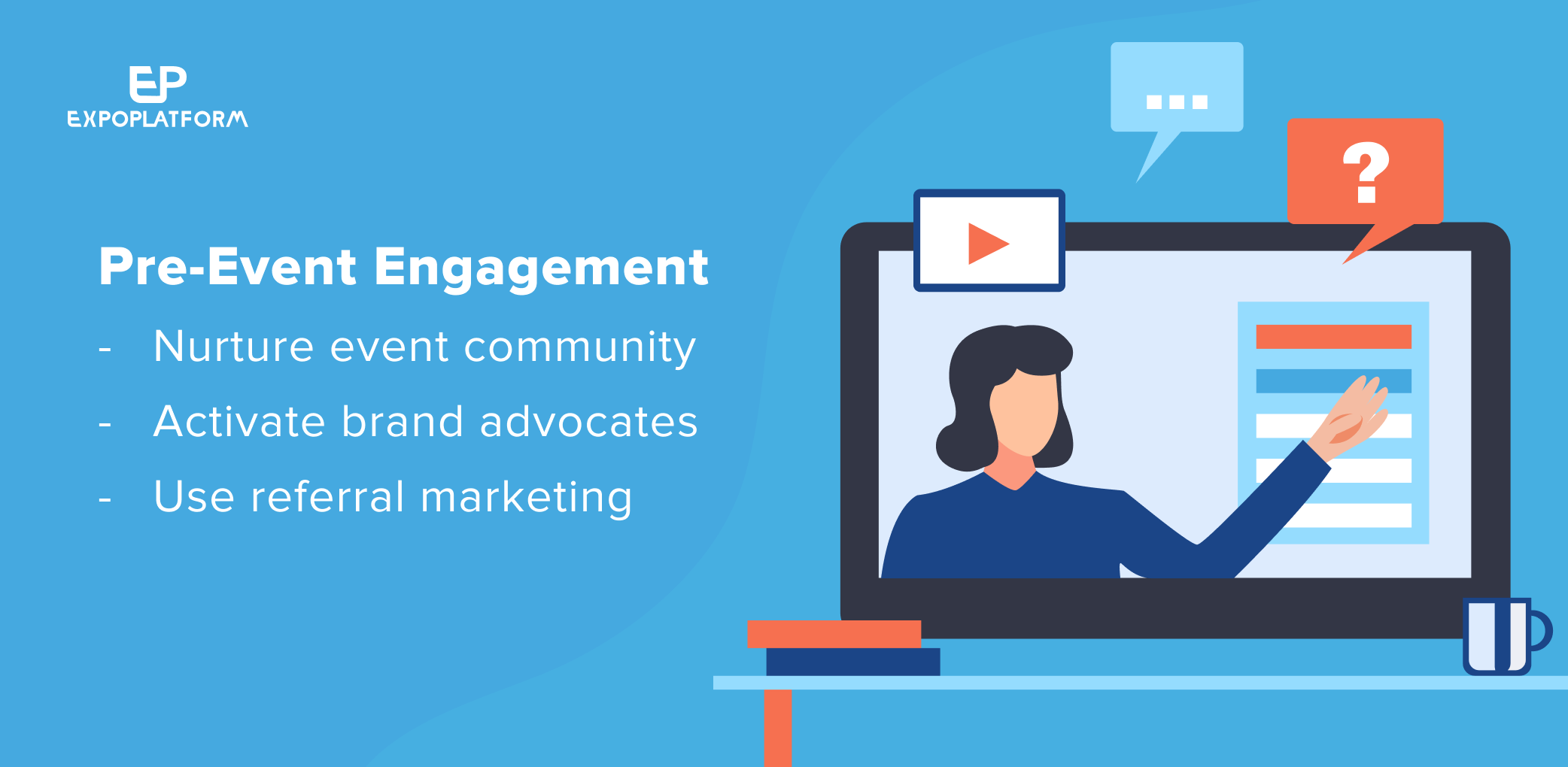 how to engage your audience before the virtual event begins