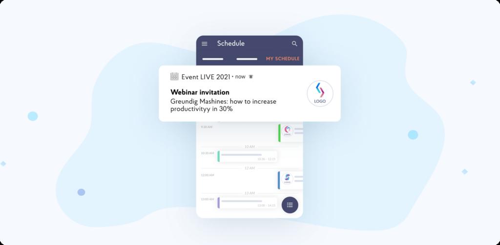 Build mobile event app