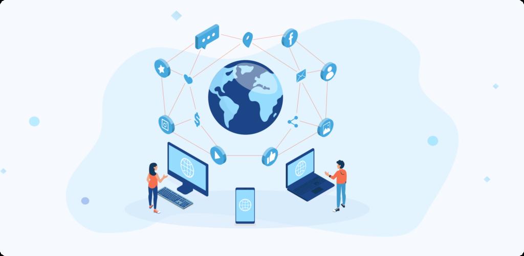 Networking-focused model